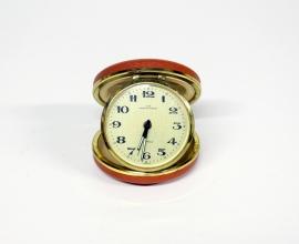 Vintage reiswekker U.C.W. 2 jewels - United Clock Works