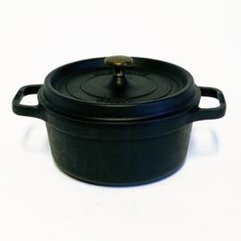 Braadpan - Staub La Cocotte - Ø 22 cm - Rond - 22 cm - Zwart