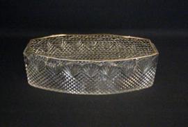 Kristallen diamantwaaier geslepen schuit - Nederland - ca. 1920