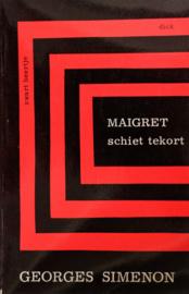 ZB0279/5 - Georges Simenon - Maigret schiet tekort