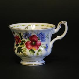 Kop - Royal Albert - Flower of the Month Series - August - Poppy
