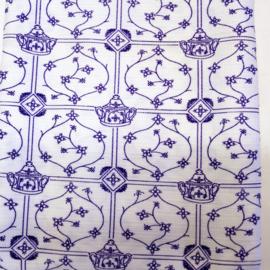 Tafelkleed - Blau Saks - 145 cm x 180 cm