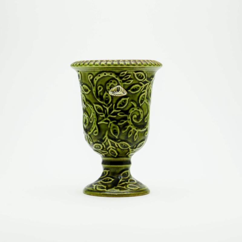 Groen Bloempotje - Keramik