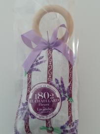 Lavendelzakje lavendel met ring Fleur de Lavande paarse strik