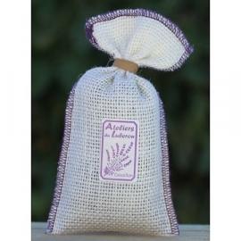 Lavendelzakje Jute (wit)