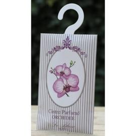 Le Blanc - Geurenvelop met kledinghaak (orchidee)
