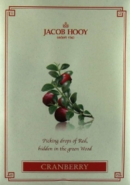 Jacob Hooy - Cranberry Geurzakje