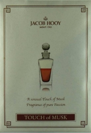 Jacob Hooy - Touch of Musk Geurzakje