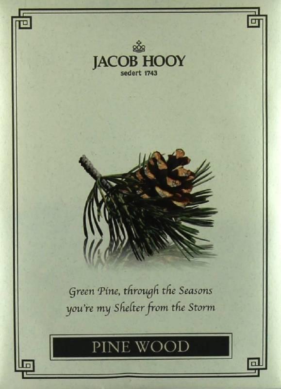Jacob Hooy - Pine Wood Geurzakje