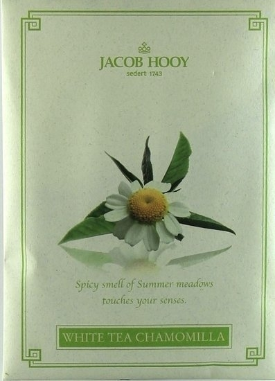 Jacob Hooy - White Tea Chamomile Geurzakje