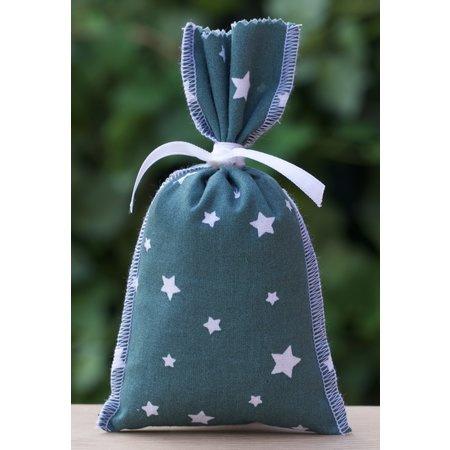 Ateliers du Luberon - Lavendelzakje Zeegroen met sterren