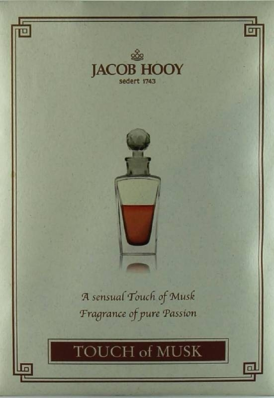 Jacob Hooy - Touch of Musk Geurzakje