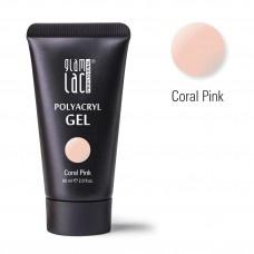 Glamlac Polyacryl Gel Coral Pink 60 ml. / In super handige tube!