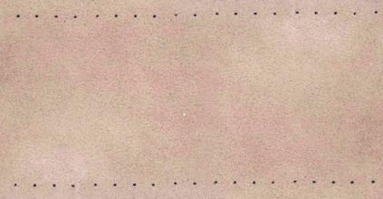 Geperforeerde stroken leer (bruin, grijs en zwart), per meter