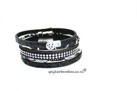 armband magneet zwart