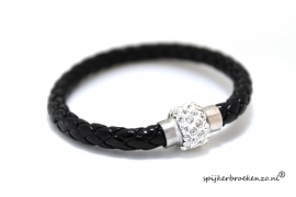 Armbandje magneet zwart