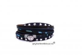 armband magneet blauw