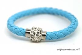 Armbandje magneet blauw