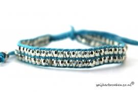 Armbandje blinkertjes blauw