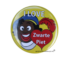 Button I love Zwarte Piet