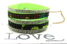 Layer armband lime