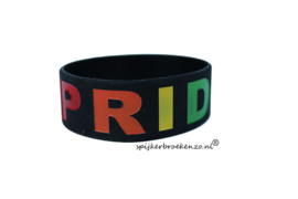 Pride armband zwart