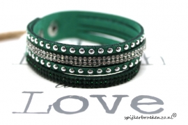 Layer armband groen