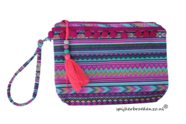 Ibiza stijl tas pink