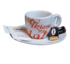 Bristot Tiziano 1919 Espresso kop en schotel