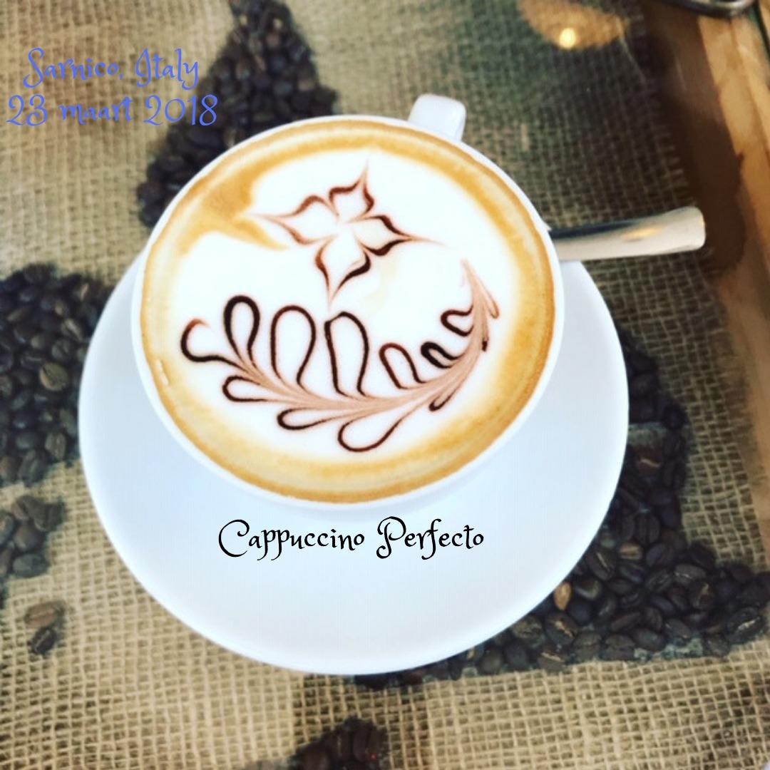 Verschillende koffies uit Italie