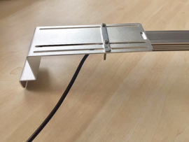 "Led ""Extension"" set voor 1 led bar (aluminium) verlengt tot 40CM"