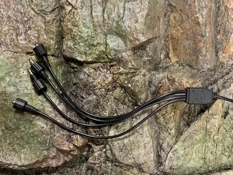 Kabel-splitter 1 naar 4