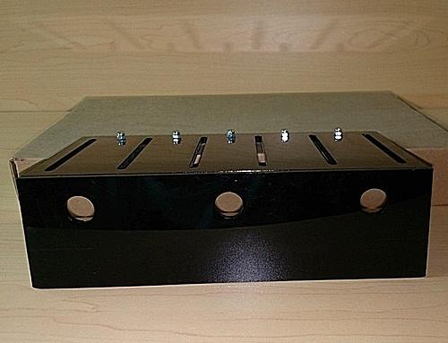 LED  houder set t.b.v. 3 led bars (tbv 1W led bars)