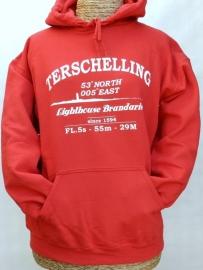 Sweater Volw. Brandweer Rood