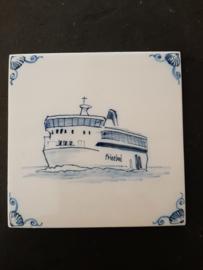 Aardewerk Tegel Veerboot