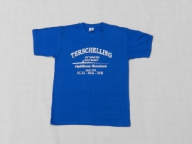 T Shirt Kind Kobalt Blauw