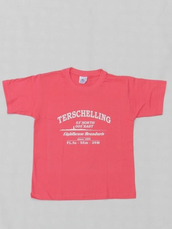 T-Shirts Baby-Peuter Licht Rose
