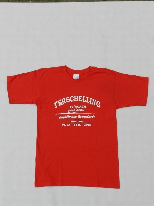 T Shirt Volw. Brandweer Rood