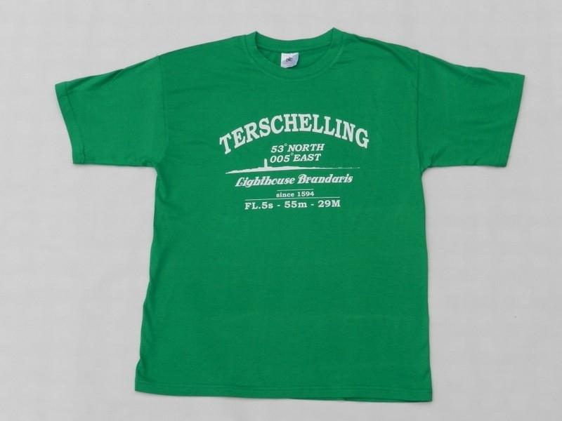 T Shirt Volw. Hard Groen