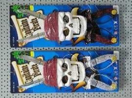 1513 - Piratenset masker met 2 sabels