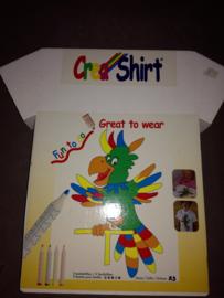 0021 - CreaShirt Papegaai