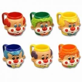41007 - IJsbeker met handvat, clown