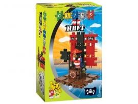 Clics Piraat op zijn vlot (Raft) CC022