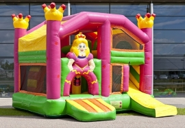 Springkasteel Multiplay Princess overdekt