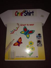 0019 - CreaShirt vlinder
