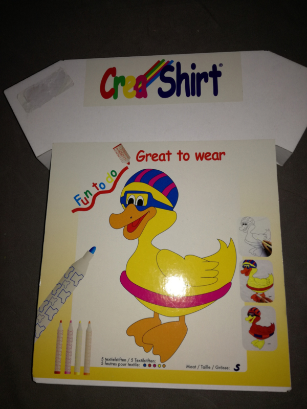 0020 - CreaShirt eend