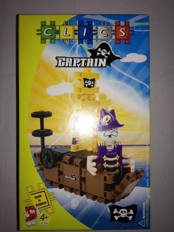 Clics Pirate Captain - CC020