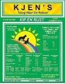 KJENS   Kip en Rijst brok   15 KG