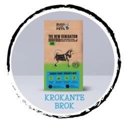 Bugs For Pets | Crunchy (krokant brok, obv insecten) | 2 KG