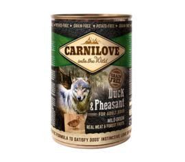 Carnilove DOG | Eend & Fazant (adult) | 400 gram